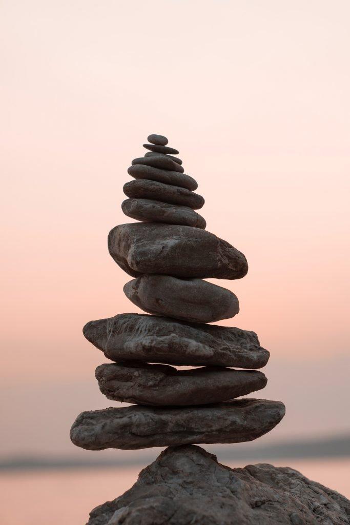 Healing religious trauma - cairn stones