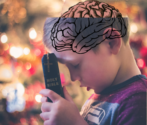 When we reject religion, billions of neural connections in our infant brains are not set free